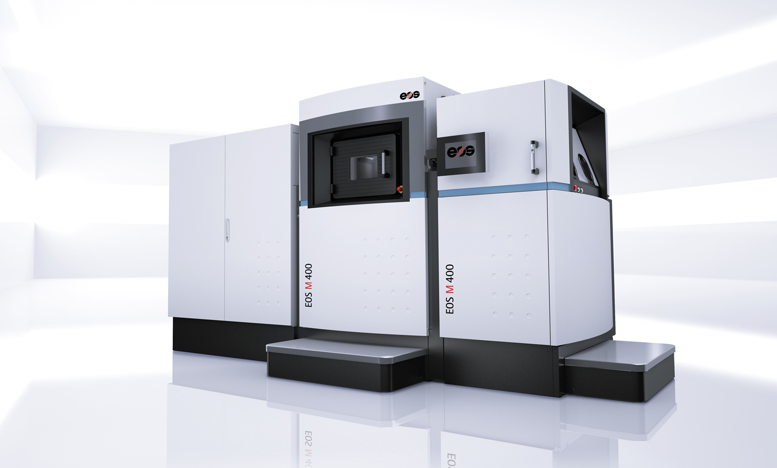 EOS M 400 metal system for Additive Manufacturing, source: EOS GmbH