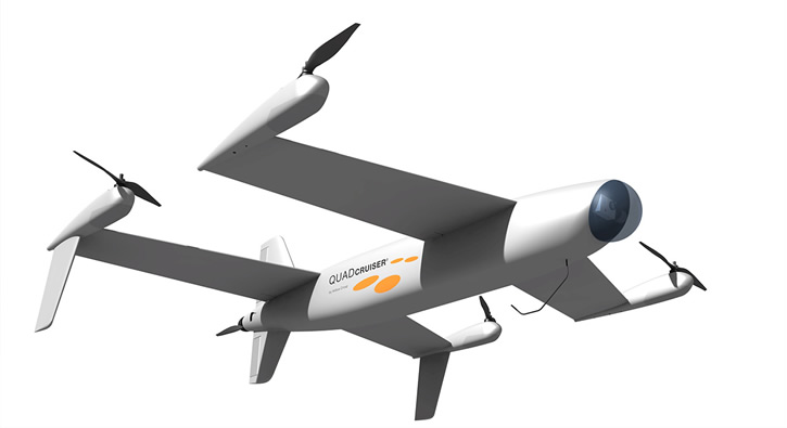 Airbus Quadcruiser's hybrid concept will be the starting design of the competition. (Photo courtesy of Airbus Group)