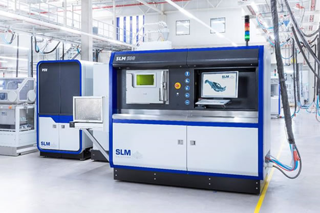 SLM®500 selective laser melting machine (Photo courtesy of SLM Solutions)